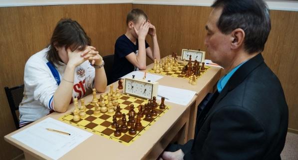 Финал личного первенства города по шахматам